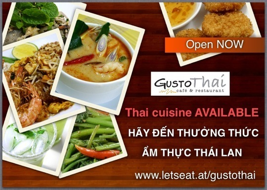 Gusto Thai Restaurant - Kitchen Creations :: Bếp Sáng Tạo